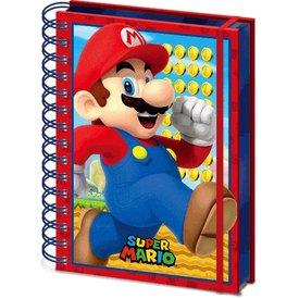 Super Mario - A5 3D Lenticular Notitieboek