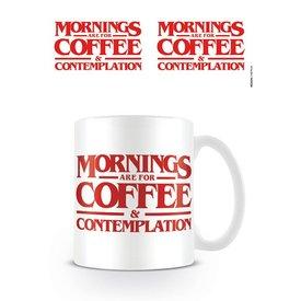 Stranger Things Coffee And Contemplation - Mug