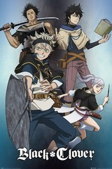 Products tagged with black clover poster