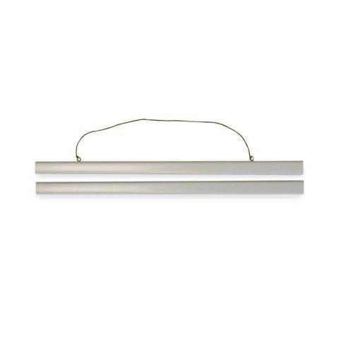 Kunststof Display Strip Wit 50cm