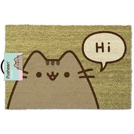 Pusheen Says Hi - Deurmat