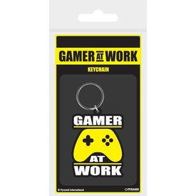 Gamer At Work Joypad - Keychain
