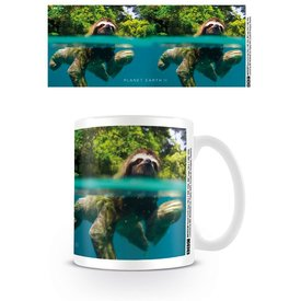 Planet Earth 2 Swimming Sloth - Mug