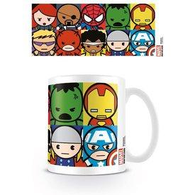 Marvel Kawaii Caractères - Mug