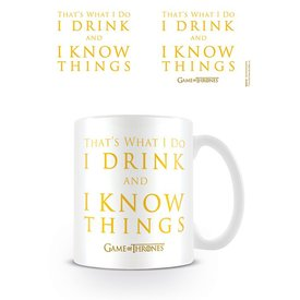 Game Of Thrones Drink & Know Things - Mug