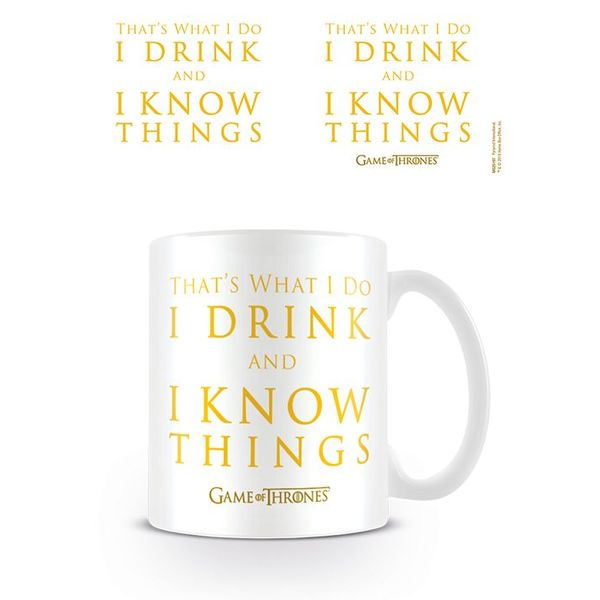 Game Of Thrones Drink & Know Things - Mok