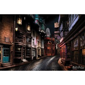 Harry Potter Diagon Alley - Maxi Poster