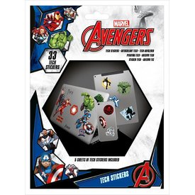 Marvel  - Tech Stickers
