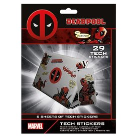Deadpool Merc With A Mouth - Tech Stickers