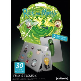 Rick And Morty Adventures - Tech Stickers