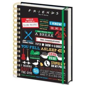 Friends Infopraphic - A5 Cahier de note