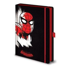 Marvel Retro Spider-Man Mono - Premium A5 Notebook