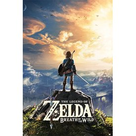 The Legend Of Zelda Breath Of The Wild Maxi Poster