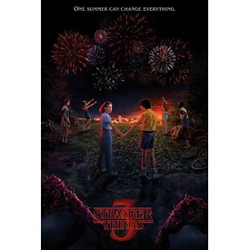 Stranger Things One Summer - Maxi Poster