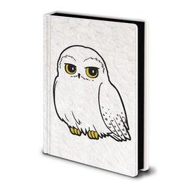 Harry Potter Hedwig Fluffy - Premium A5 Cahier de note