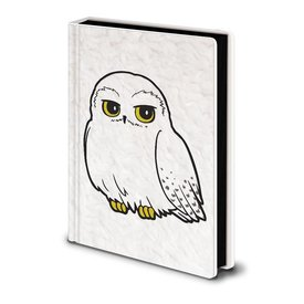 Harry Potter Hedwig Fluffy - Premium A5 Notebook