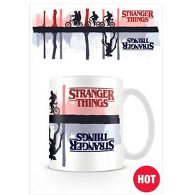 Stranger Things Upside Down - Mugs thermo-réactifs