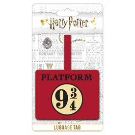 Harry Potter Platform 9 3-4 - Étiquette de bagage