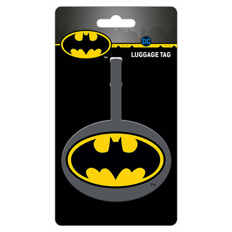 Batman Logo - Bagage Labels