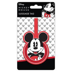 Mickey Mouse - Étiquette de bagage