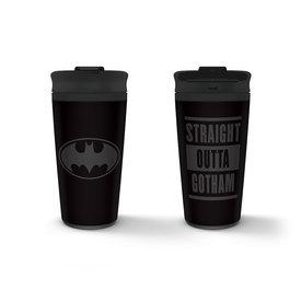 Batman Straight Outta Gotham - Mug de voyage en métal