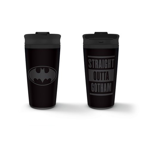 Batman Straight Outta Gotham - Metal Travel Mug