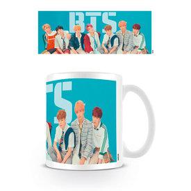 Bangtan Boys BTS Group Blue - Mug
