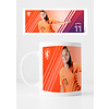 KNVB Leeuwinnen #11 Martens - Mok