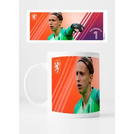 KNVB Leeuwinnen #1 Van Veenendaal - Mok
