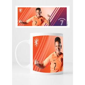 KNVB Leeuwinnen #7 Van De Sanden - Mug