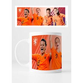 KNVB Leeuwinnen Group - Mug