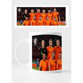 KNVB Leeuwinnen Team - Mug