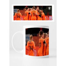 KNVB Leeuwinnen Goal! - Mug