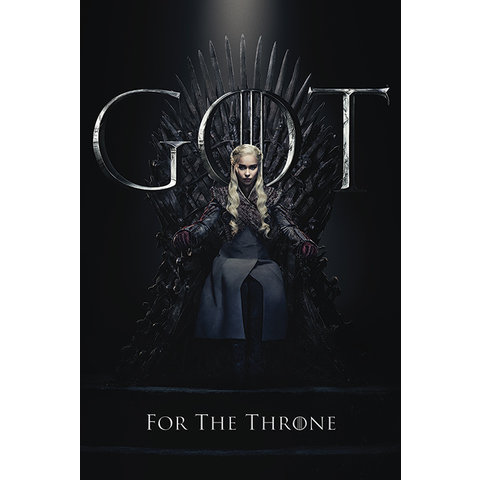 Game of Thrones Daenerys For The Throne - Maxi Poster