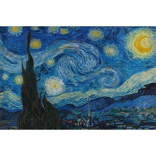 Van Gogh Starry Night - Maxi Poster