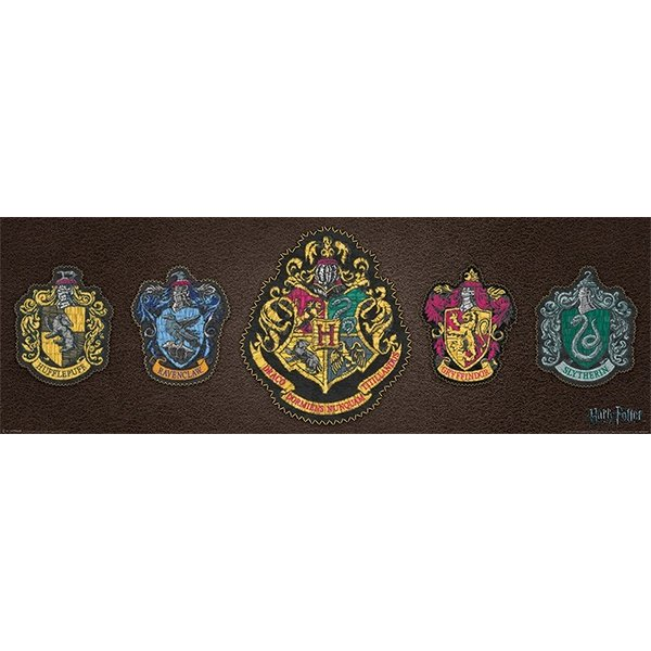 Harry Potter Crests Medium Poster