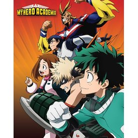 My Hero Academia Heroes to Action Mini Poster