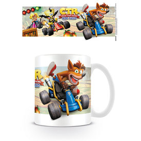 Crash Team Racing Fight For First PLace Mug