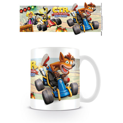 Crash Team Racing Fight For First PLace Mok