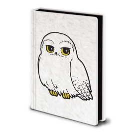 Harry Potter Hedwig Fluffy - Premium A5 Cahier de note