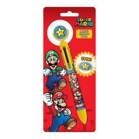 Super Mario Burst Multi-Coloured Pen