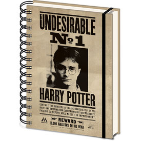 Harry Potter Sirius & Harry A5 3D Lenticular Cahier de Note