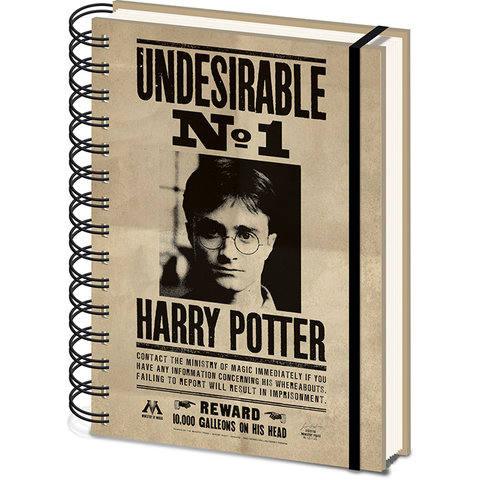 Harry Potter Sirius & Harry A5 3D Lenticular Notebook