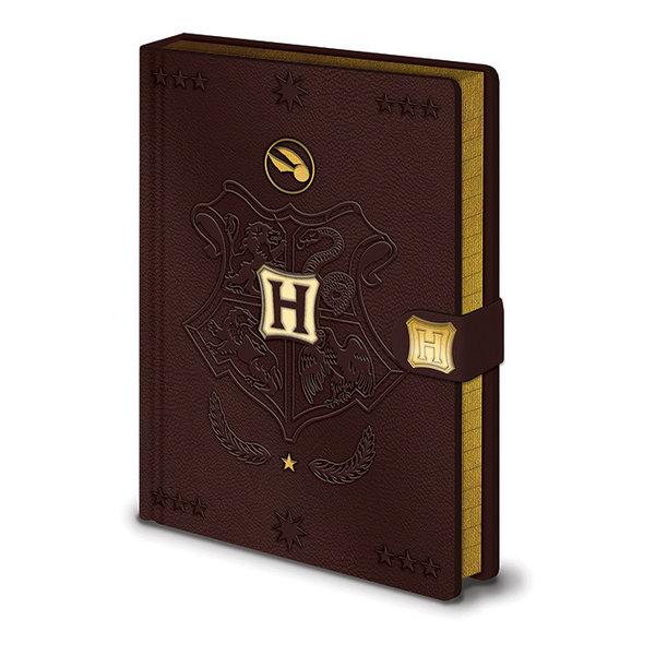 Harry Potter Quidditch Premium A5 Cahier de note