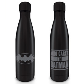 Batman Who Cares I'M Batman Metal Drinkfles