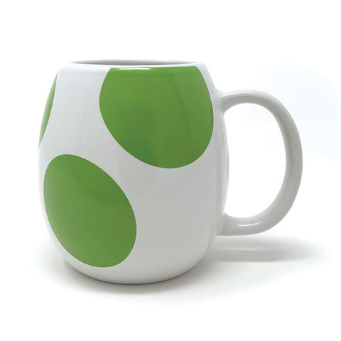 Super Mario Yoshi Egg Shaped Mug