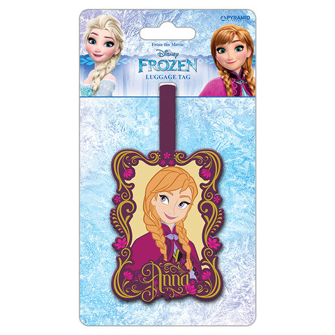 Disney Frozen Anna Bagage Label