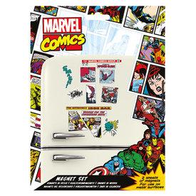 Marvel Retro Aimants de Frigo