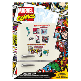 Marvel Retro Magnet Set