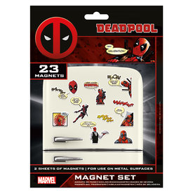 Deadpool Magnet Set
